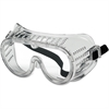 Crews Economy Safety Goggles - Recommended for: Eye - Flying Particle, Impact, Debris, Ultraviolet Protection - Polyvinyl Chloride (PVC) Body, Polycarbonate Lens - Clear - 1 Each