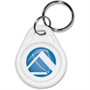 "Pyramid Time Systems TimeTrax Prox Key Fobs 5/pk - 2.3"" x 1.3"" x 0.1"" - 5 / Pack - White"