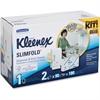 Kleenex Slimfold WhiteTowel Starter Kit - Multifold - 225 x Towel Multifold - White