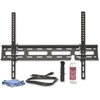"Lorell Wall Mount for Flat Panel Display - 32"" to 60"" Screen Support - 77 lb Load Capacity - Steel - Black"