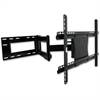 "Lorell Mounting Arm for Flat Panel Display - 37"" to 61"" Screen Support - 150 lb Load Capacity - Steel - Black"