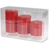 Energizer Flameless LED Wax Candle - Red
