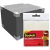 Scotch Sturdy Seam Corner Reinforcers - Durable - 10 / Pack - Clear