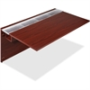 "Concordia Laminate Desk Ensemble - 66"" x 29.5"" x 40"" - Finish: Laminate, Mahogany"