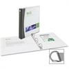"Avery Comfort Touch Color Spine Slant-D View Binder - 1"" Binder Capacity - Letter - 8 1/2"" x 11"" Sheet Size - D-Ring Fastener - 2 Internal Pocket(s) - Vinyl - 1 / Each"