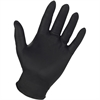 Genuine Joe 6mil Nitrile Pwdr Free Indust Gloves - X-Large Size - Nitrile - Black - Puncture Resistant, Textured, Powder-free - For Industrial - 100 / Box