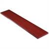 "Lorell Desktop Panel System Transaction Top - 70.9"" Width x 11.8"" Depth1"" Thickness - Particleboard, Melamine - Mahogany"