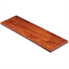 "Lorell Desktop Panel System Transaction Top - 47.3"" Width x 11.8"" Depth1"" Thickness - Particleboard, Melamine - Cherry"