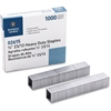 "Business Source Heavy-duty Staples - 100 Per Strip - Heavy Duty - 23/13 - 1/2"" Leg - 1/2"" Crown - Holds 90 Sheet(s) - for Paper - Chisel Point - Silver - 1000 / Box"