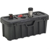 "Genuine Joe Multi-purpose Large Pro Tuff Bin - External Dimensions: 35"" Width x 14"" Depth x 13"" Height - Padlock Closure - Foam, Steel, Metal - Black - For Multipurpose - 1 Each"