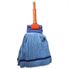 "Genuine Joe Gripper Handle Complete Mop - MicroFiber Head - 60"" Handle - Launderable, Absorbent - 1 Each"
