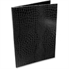 "Aurora PROformance Padfolio - Letter - 8 1/2"" x 11"" Sheet Size - Internal Pocket(s) - Paperboard - Black - Recycled - 1 Each"