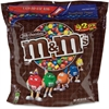 M&M's Plain Chocolate Candy w/Zipper - Milk Chocolate - Resealable Zipper - 2.62 lb - 1 / Pack