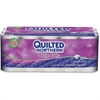"Quilted Northern Plush Bathroom Tissue - 3 Ply - 4"" x 4"" - 176 Sheets/Roll - 4.65"" Roll Diameter - White - Plush - Soft, Comfortable, Anti-septic, Flushable, Absorbent - 30 / Carton"