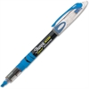 Sharpie Pen-style Liquid Ink Highlighters - Chisel Point Style - Fluorescent Blue Pigment-based Ink - 1 Dozen