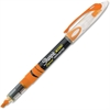 Sharpie Pen-style Liquid Ink Highlighters - Chisel Point Style - Fluorescent Orange Pigment-based Ink - 1 Dozen