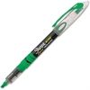 Sharpie Pen-style Liquid Ink Highlighters - Chisel Point Style - Fluorescent Green Pigment-based Ink - 1 Dozen