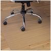"ES Robbins Trendsetter Chestnut Woodgrain Chairmat - Hardwood Floor, Wood Floor, Tile Floor - 48"" Length x 36"" Width - Rectangle - Chestnut"