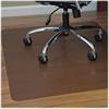 """ES Robbins Trendsetter D.Cherry Woodgrain Chairmat - Hardwood Floor, Wood Floor, Tile Floor - 48"""" Length x 36"""" Width - Rectangle - Dark Cherry"""