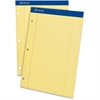 "Ampad Perforated Ruled Pads - 50 Sheets - Printed - Stapled - 8.50"" x 11.75"" - 1Dozen"