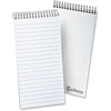 "Ampad Earthwise Reporter's Notebook - 70 Sheets - Printed - Wire Bound - Front Ruling Surface - 15 lb Basis Weight - 4"" x 8"" - White Paper - 1Each"