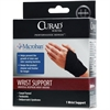 "Curad Microban Universal Wrist Support - Antimicrobial, Latex-free - 11"" Adjustment - Black"