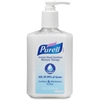 Purell Hand Sanitizer Moisture Therapy Pump - 8 oz - Pump Bottle Dispenser - Kill Germs, Bacteria Remover - Hand - Clear - Quick Drying, Moisturizing - 1 Each