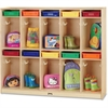 "Jonti-Craft Take Home Center - 10 Compartment(s) - 50.5"" Height x 60.5"" Width x 15"" Depth - 1Each"