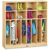 "Jonti-Craft Neat-n-Trim Open Cubbie Storage Locker - 50.5"" Height x 48"" Width x 15"" Depth - Wood Grain - Baltic Birch Plywood - 1Each"