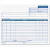 "TOPS Carbonless Purchase Order Forms - 50 Sheet(s) - 15 lb - 3 Part - 8.50"" x 7.63"" Form Size - Light Blue Print Color - 50 / Pack"