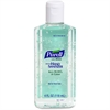 Purell Instant Hand Sanitizer with Aloe - Floral Scent - 4 fl oz (118.3 mL) - Squeeze Bottle Dispenser - Kill Germs - Hand, Skin - Green - Moisturizing, Non-sticky, Residue-free - 24 / Carton