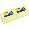 """Post-it Post-it Pop-up Notes, 3 in x 5 in, Canary Yellow - 1200 x Canary Yellow - 3"""" x 5"""" - Rectangle - 100 Sheets per Pad - Unruled - Canary Yellow - Paper - Self-adhesive, Repositionable - 12 Pad"""