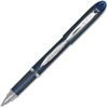Uni-Ball Jetstream Gel Rollerball Pens - Fine Point Type - 0.7 mm Point Size - Refillable - Blue Pigment-based Ink - Stainless Steel Barrel - 1 Dozen