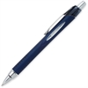 Uni-Ball Jetstream RT Retractable Rollerball Pens - Fine Point Type - 0.7 mm Point Size - Black Pigment-based Ink - Blue, Stainless Steel Barrel - 1 Dozen