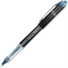 Uni-Ball Vision Elite Rollerball Pens - Micro Point Type - 0.5 mm Point Size - Refillable - Black/Blue Pigment-based Ink - 1 Dozen