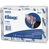 Kleenex Cleaning Towel - 1 Ply - C-fold - Soft, Absorbent, Foldable - For Hand - 150 Sheets Per Bundle - 16 / Carton