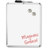 "The Board Dudes 11""x14"" Magnetic Dry-erase Board - 11"" (0.9 ft) Width x 14"" (1.2 ft) Height - White Metal Surface - Aluminum Frame - Rectangle - Mount - 1 Each"