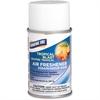 Genuine Joe Metered Dispenser Air Freshener Spray - Spray - Tropical Blast - 30 Day - 12 / Carton - Odor Neutralizer