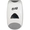 Genuine Joe 1250 ml Soap Dispenser - Manual - 42.3 fl oz (1250 mL) - Gray, White