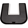 Genuine Joe Deodorizing Commode Mat - Restroom - Black