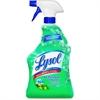 Lysol Fresh Mtn All Purpose Cleaner - Ready-To-Use Spray - 0.25 gal (32 fl oz) - Mountain Fresh ScentBottle - 12 / Carton - Blue