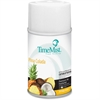 TimeMist Metered Dispenser Baby Powder Scent Refill - Aerosol - 6000 ft³ - Pina Colada - 30 Day - 12 / Carton - Odor Neutralizer