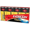 Eveready Gold Alkaline 9-Volt Batteries - 9V - Alkaline - 9 V DC - 96 / Carton