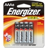 Energizer Max Alkaline AAA Batteries - AAA - Alkaline - 384 / Carton
