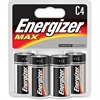 Energizer Max Alkaline C Batteries - C - Alkaline - 48 / Carton