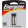 Energizer Max AAAA Batteries - AAAA - Alkaline - 24 / Carton