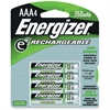 Energizer e2 Rechargeable 850mAh AAA Batteries - 850 mAh - AAA - Nickel Metal Hydride (NiMH) - 96 / Carton