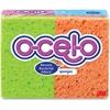 "O-Cel-O Stay Fresh Sponges - 3"" Height4.7"" Depth - 96/Carton - Cellulose - Assorted"