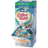 Coffee-Mate SF French Vanilla Creamer Singles - French Vanilla Flavor - 1.19 quart - 200/Carton - 50 Per Box - 1 Serving