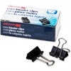 """OIC Mini / Binder Clips, Black - Mini - 0.4"""" Width - 0.25"""" Size Capacity - Corrosion Resistant, Durable - 144 / Pack - Silver, Black"""